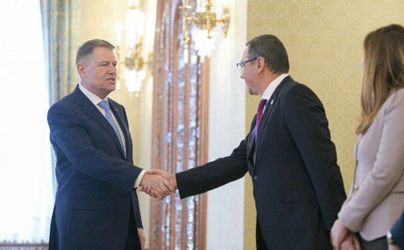 Consultări la Cotroceni pentru numirea unui nou premier. Ponta: Nu m-am dat înapoi
