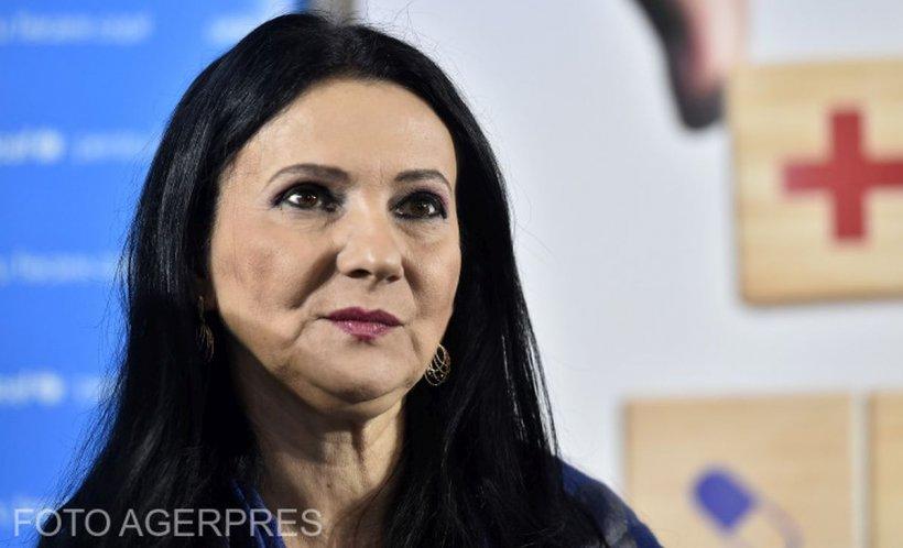Sorina Pintea, fost ministru al Sănătății, a fost arestată preventiv pentru 30 de zile