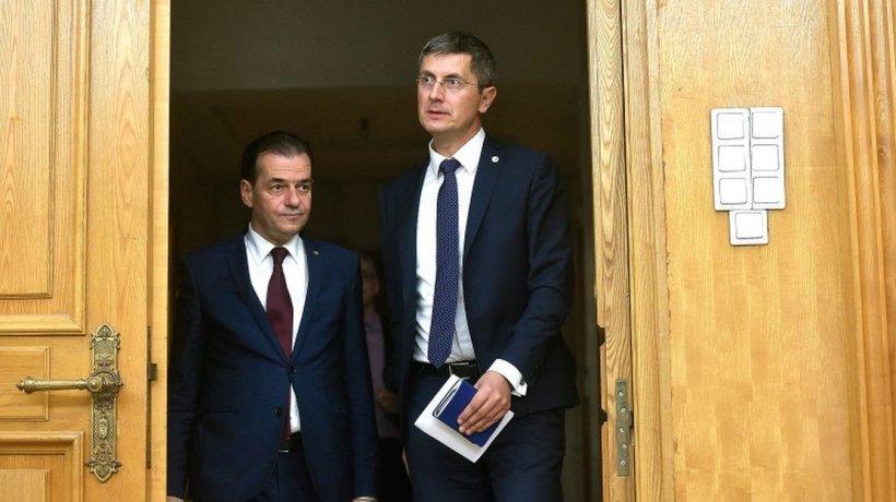 Dan Barna negociază votul pentru învestitura lui Florin Cîțu