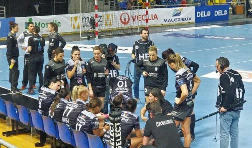 CSM Bucureşti, calificată în sferturile Ligii Campionilor la handbal