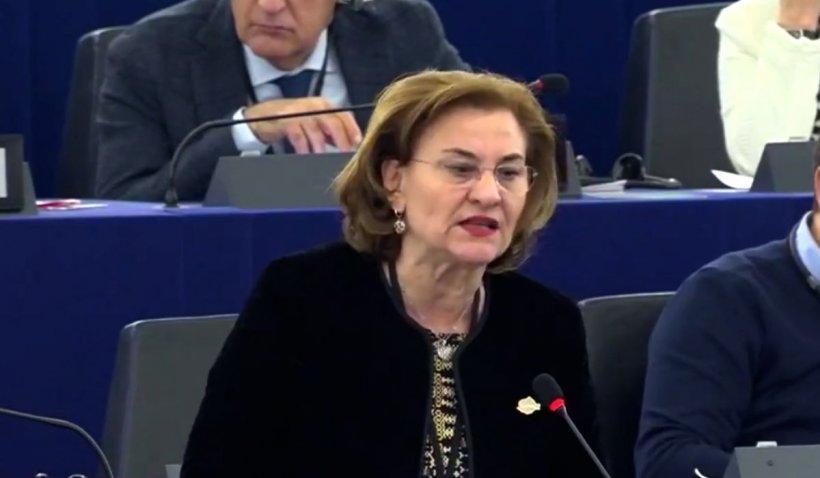 Maria Grapini, intervenție în Parlamentul European: 'Solicit măsuri de control la toate frontierele terestre'