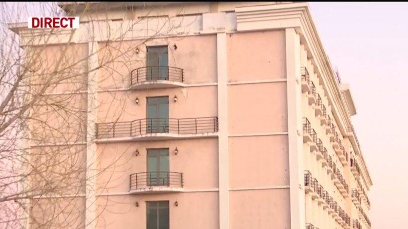 Imagini cu hotelul din Bucureşti care va fi transformat în carantină - VIDEO