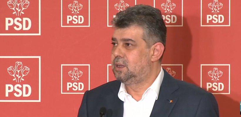 """Marcel Ciolacu: """"PSD merge la consultări. Cel târziu luni România trebuie să aibă un guvern stabil"""""""
