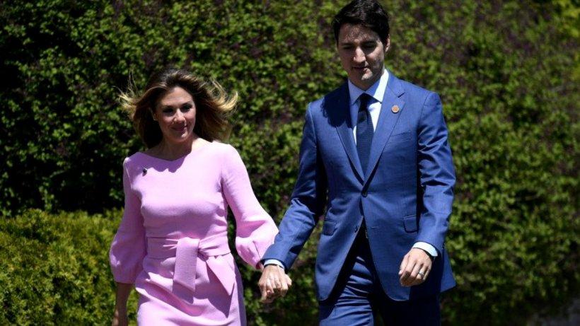Soția premierului Canadei, testată POZITIV cu coronavirus