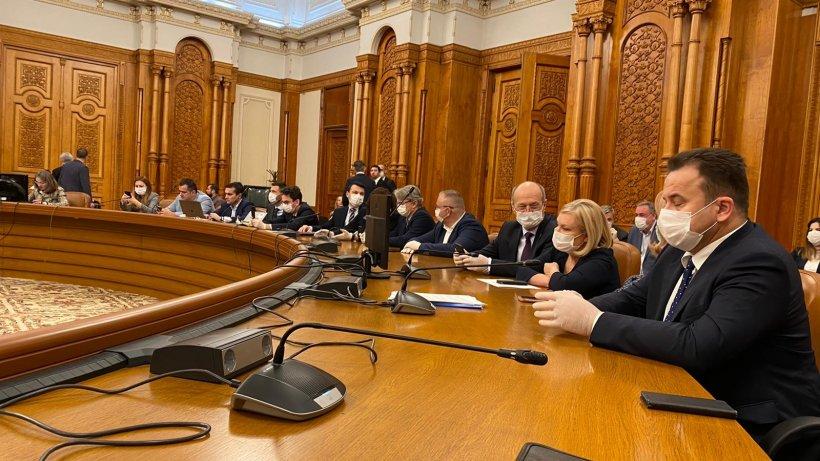 Parlamentul își suspendă activitatea din cauza coronavirusului