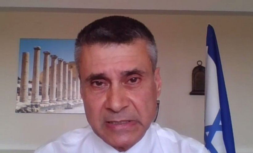 """Descoperire majoră în Israel. David Saranga, ambasadorul Israelului la Bucureşti: """"Sunt testate măști care ucid COVID -19"""""""