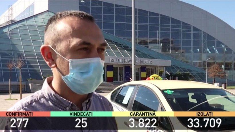 Taximetriştii din Constanța oferă curse gratuite pentru toate cadrele medicale: ''Ei sunt eroii noştri!''