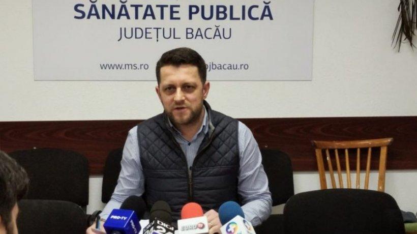 Directorul DSP Bacău și-a depus demisia. Alin Năstasă invocă incoerența măsurilor luate de Guvern în această perioadă