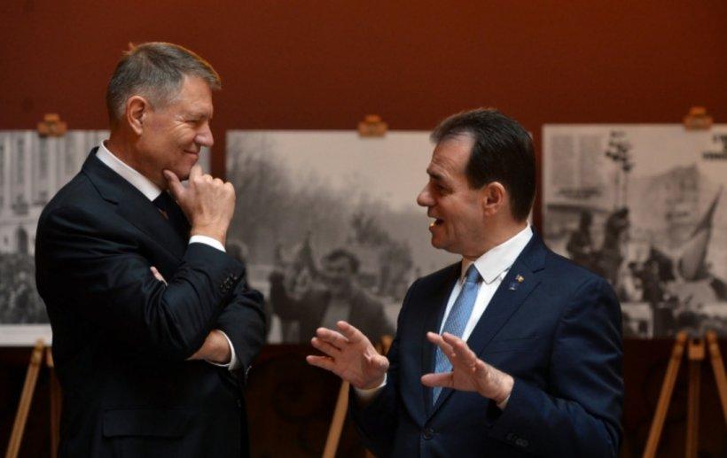 Klaus Iohannis, contrazis de Ludovic Orban pe tema Ordonanței militare numărul 3