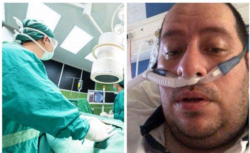 Apelul disperat al unui bărbat de 39 de ani cu coronavirus. Mesaj de adio pentru soție și copii!