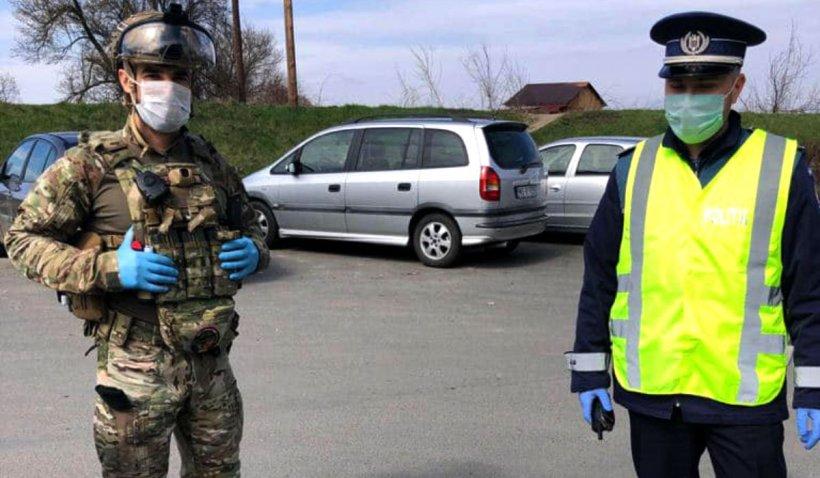Polițist izolat în Ialomița, după ce a fost scuipat de un bărbat recent întors din Franța