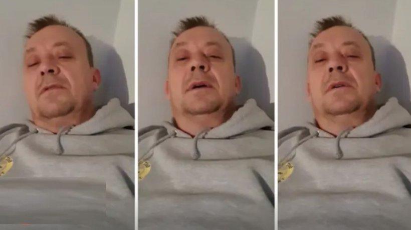"""Un bărbat descrie primele simptome ale infecției cu coronavirus: """"M-am trezit transpirat, cu febră și frisoane și simțeam că îmi este foarte sete"""""""