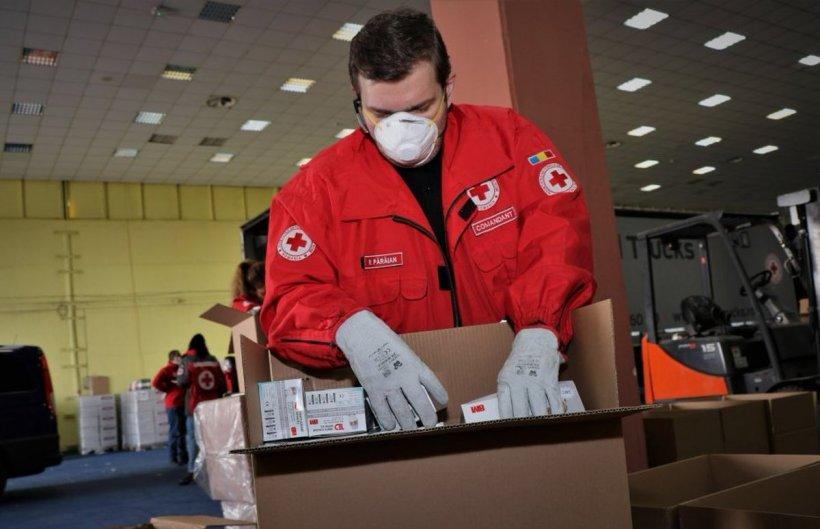 Crucea Roșie a achiziționat un milion de măști sanitare