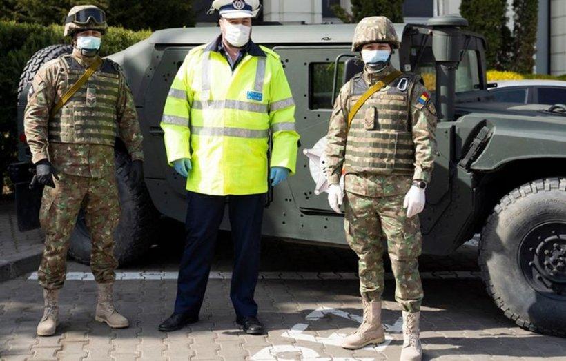 Guvernul anunţă întreruperea concediilor pentru militari şi poliţişti, pe perioada stării de urgenţă