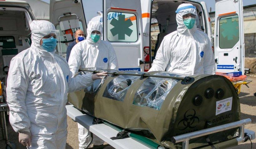 Asistentă de la Ambulanța Galați, infectată cu coronavirus