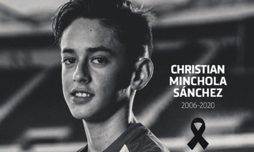 Un junior de la Atletico Madrid a murit la doar 14 ani