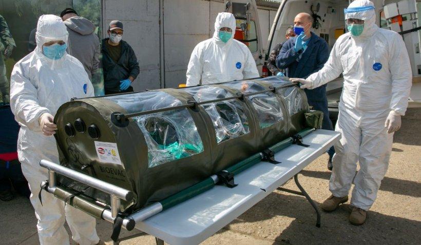 1.815 români infectați cu coronavirus și 43 de morți, ultimul bilanț al pandemiei de coronavirus