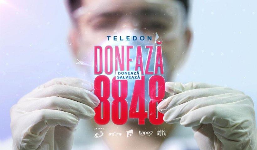 Teledon 'Români Împreună' pentru medicii care luptă cu pandemia de coronavirus. Suma totală strânsă - 2.627.219 de euro