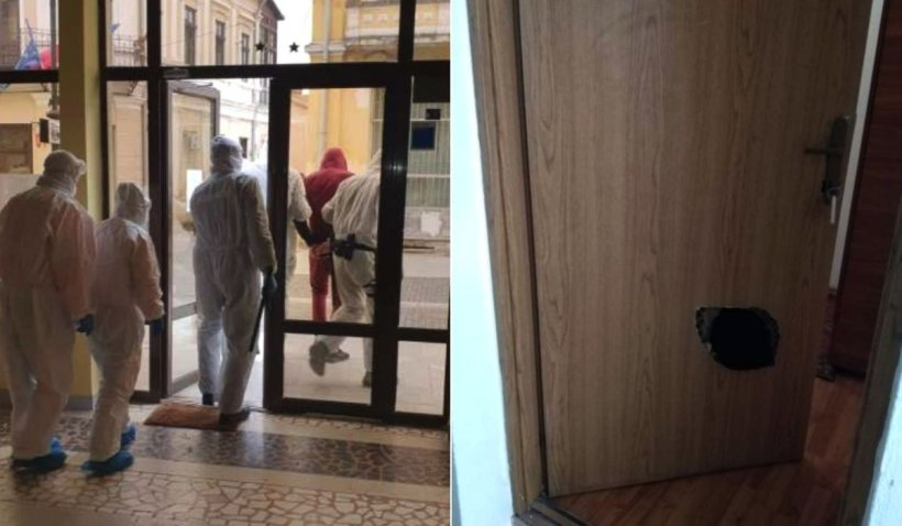Un bărbat din Botoșani a evadat de două ori în trei zile dintr-un centru de carantină