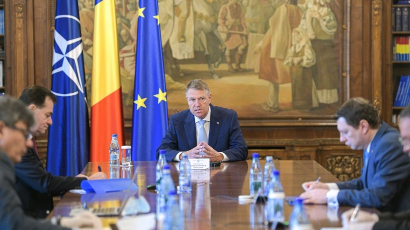 Ședința de la Palatul Cotroceni s-a încheiat. Klaus Iohannis s-a întâlnit cu Ludovic Orban și ministrii din Guvern