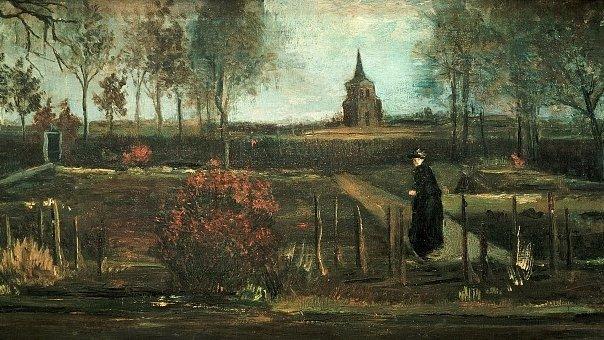 O operă de artă a pictorului Van Gogh, furată dintr-un muzeu din Olanda