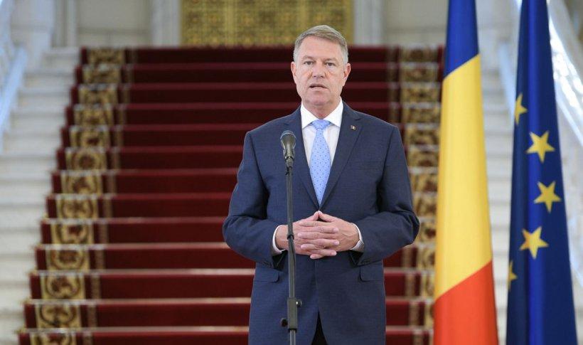 Klaus Iohannis, declarație de presă la Palatul Cotroceni: Legea se impune, nu se discută