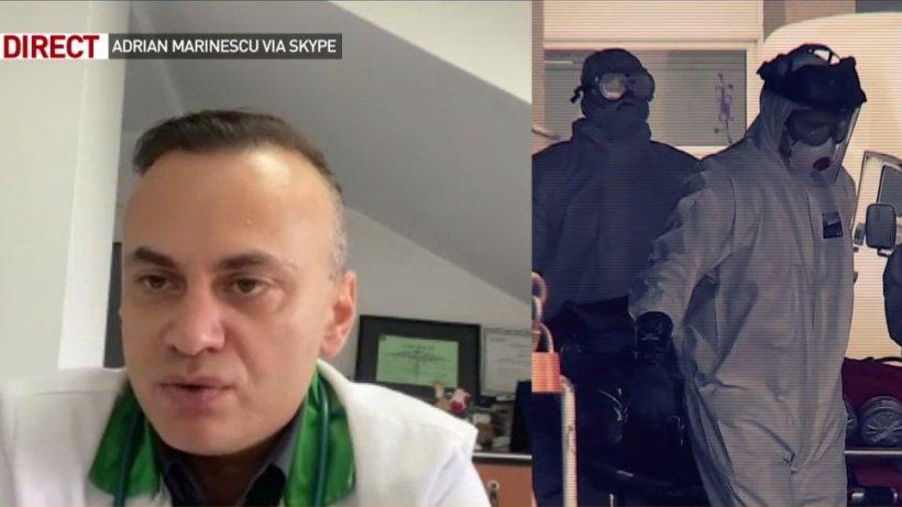 Doctorul Adrian Marinescu, despre cadrele medicale care demisioneză în timpul pandemiei