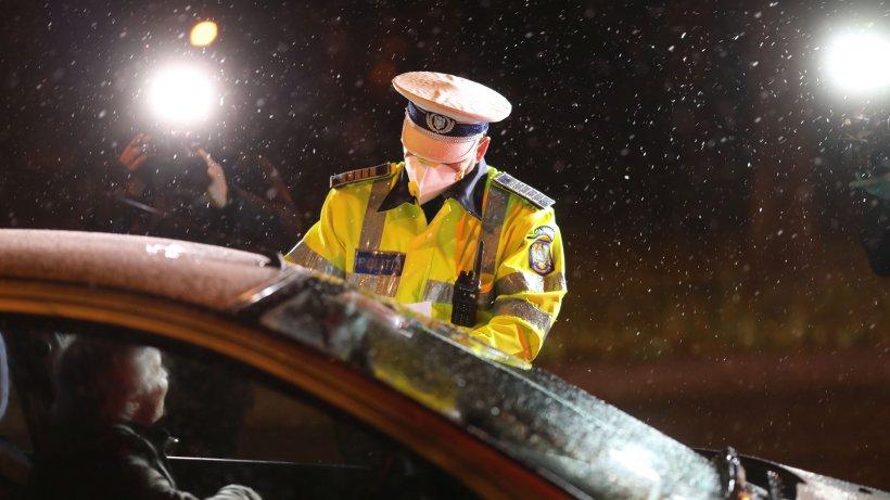 Polițist local din Constanța, amendat de un polițist rutier după ce a prins un șofer beat