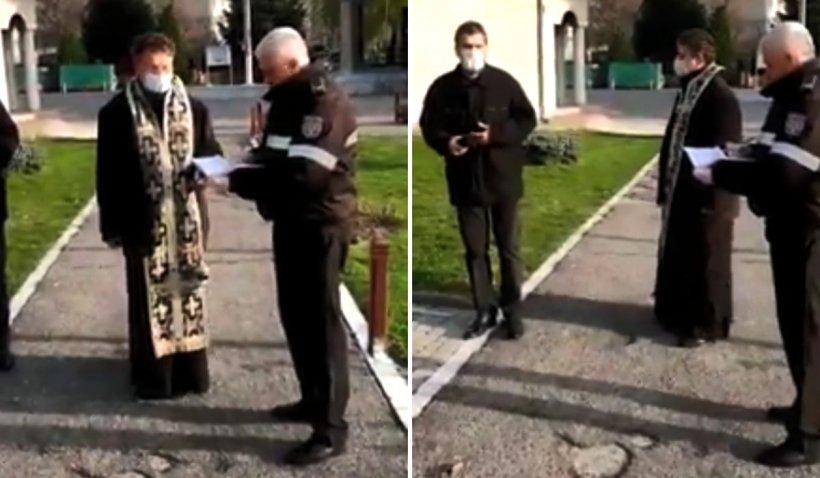 Preot din Râmnicu Vâlcea, amendă de 20.000 de lei după ce a lăsat mai mulți bătrâni în biserică