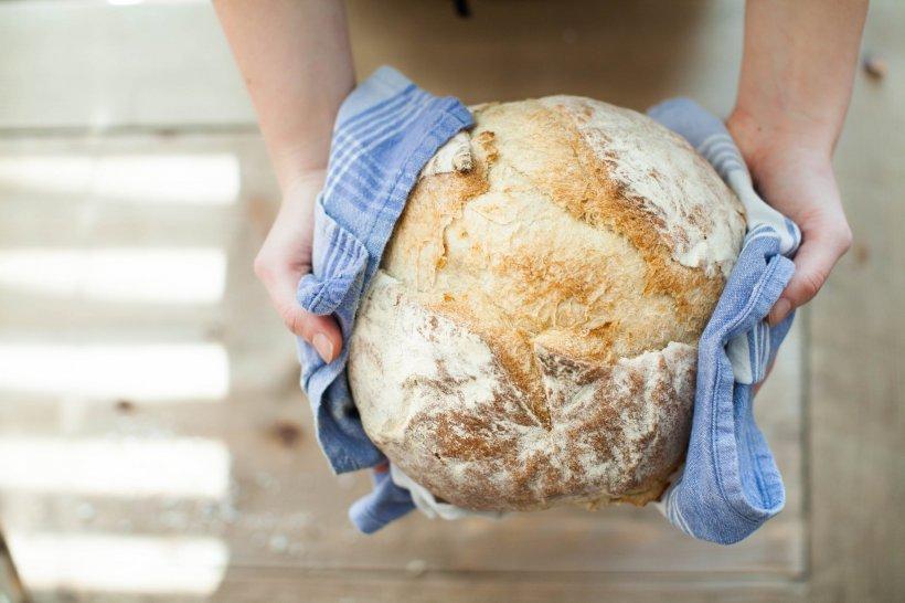 Rețeta de pâine făra drojdie. Se face simplu și rapid
