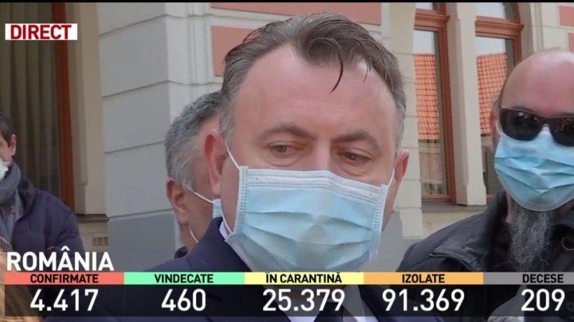 Nelu Tătaru, în inspecţie la Deva: ''Nu pot spune că cineva şi-a făcut treaba, fiindcă atunci nu mai eram eu aici!''