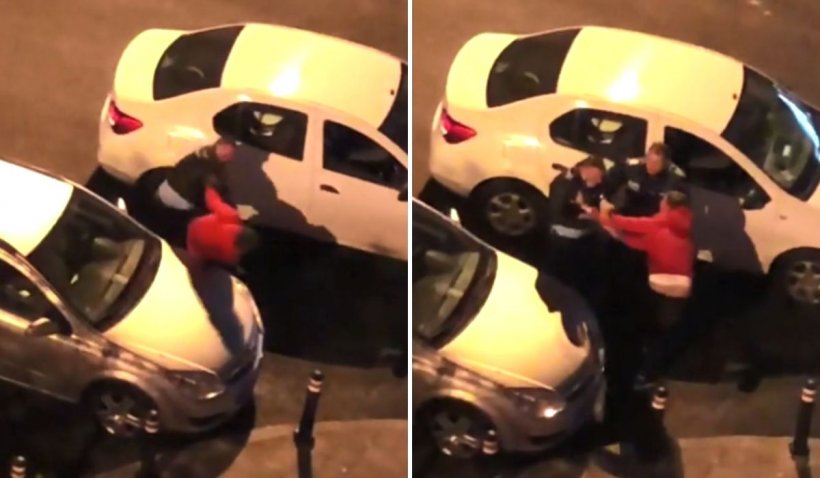 Tânăr lovit cu pumnii de un polițist, în București, după ce a refuzat să se legitimeze