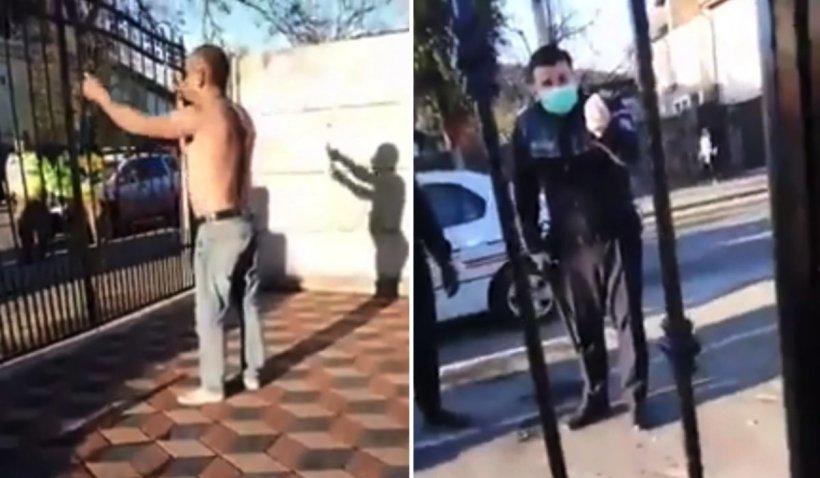 Petrecere cu manele, stricată de polițiști și jandarmi la Craiova: 'Dacă intrați în curte, tai 20 din voi până mă prindeți'
