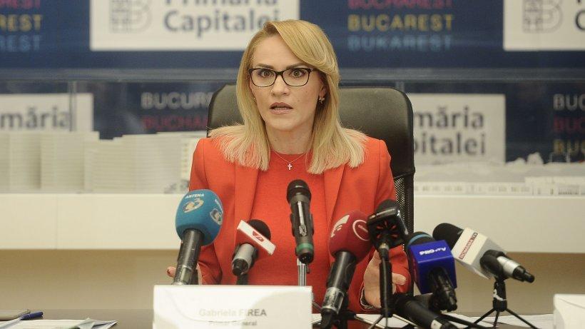 """Primăria Capitalei are nevoie de bani. Gabriela Firea: """"Vor fi zile foarte dificile dacă Guvernul nu găsește o soluție"""""""