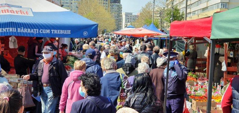Două pieţe din Capitală au fost închise şi altele două amendate