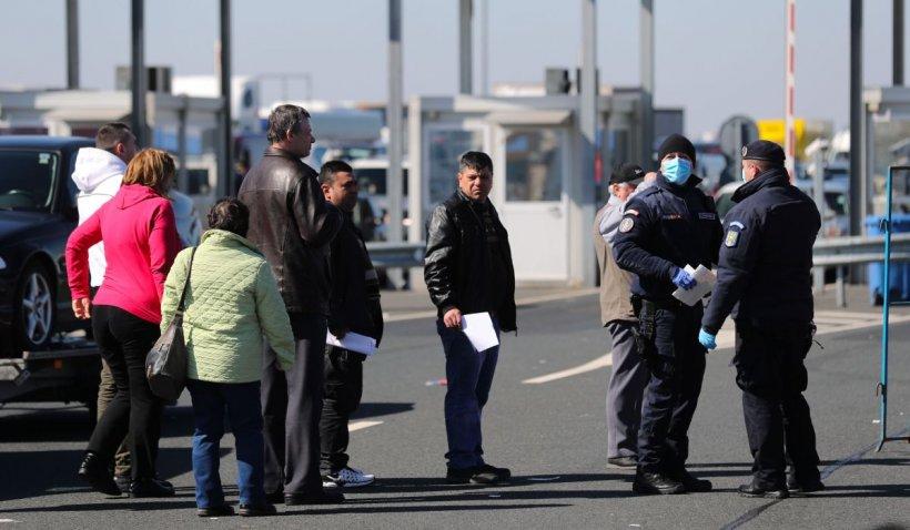 Aproximativ 10.000 de persoane au intrat în România în ultimele 24 de ore