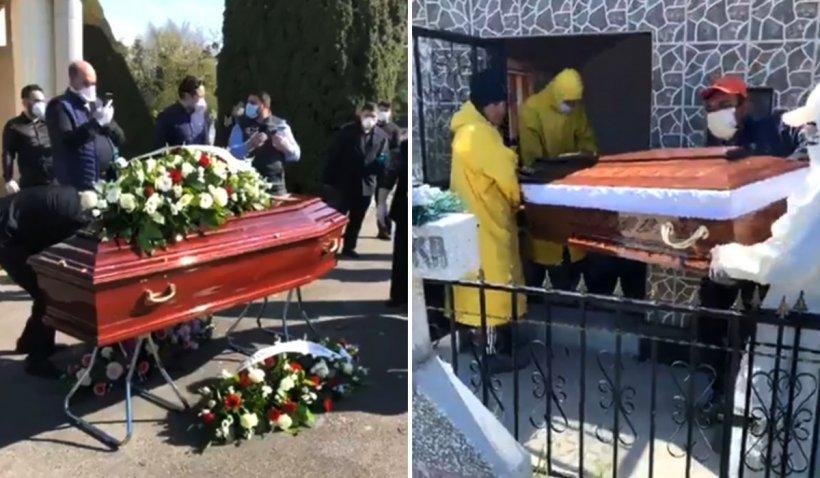 Înmormântări live pe Facebook, cu Poliția la poarta cimitirului și costume de protecție, în Țăndărei