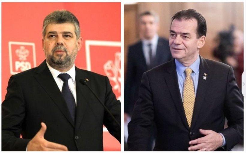 Ce vor face Ludovic Orban și Marcel Ciolacu în noaptea de Înviere