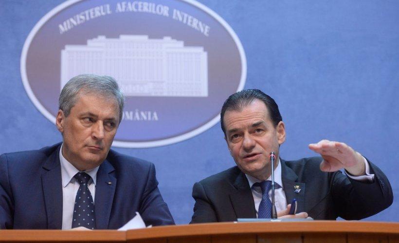 """Orban se dezice de ministrul de Interne. """"Am văzut acordul BOR-MAI după semnare"""""""