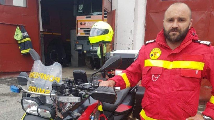 """Un paramedic-erou: """"Sunt situații când ajungi la capătul puterilor!"""""""