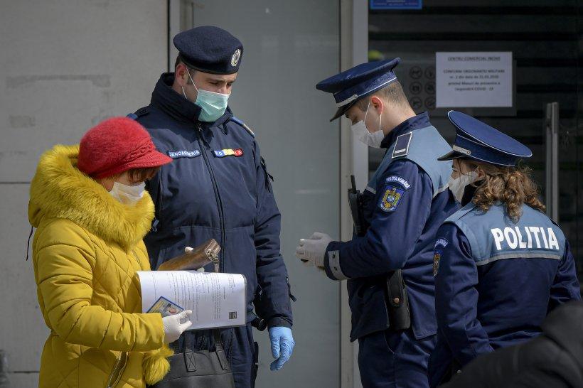 5.000 de amenzi pentru nerespectarea interdicțiilor privind deplasarea într-o singură zi