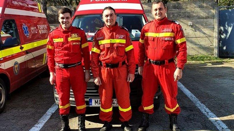 Minunea din Sâmbăta Paștilor! Trei pompieri din Suceava au asistat nașterea unui copil (FOTO)