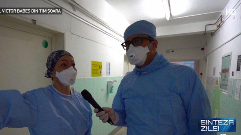 """Mihai Gâdea, față în față cu eroii și pacienții. Secretul medicilor din """"spitalul minune"""" Victor Babeș din Timișoara"""