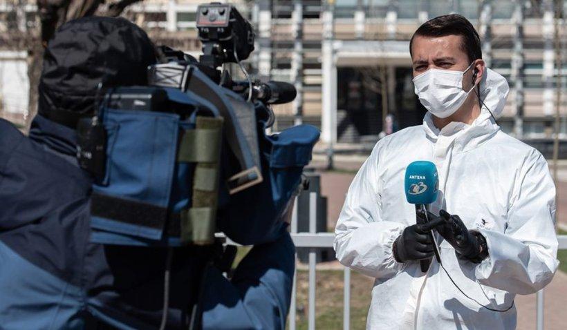 Andrei Grigore, reporterul Antena 3 care a transmis, oră de oră, din mijlocul focarului de coronavirus de la Suceava