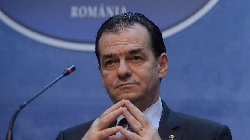 Ludovic Orban: Am solicitat să nu se dea amendă din prima, ci să existe întâi un avertisment
