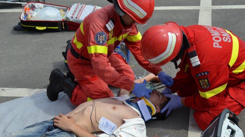 Femeia din Brașov a sunat la 112 și a anunțat că partenerul său nu mai respiră și se învinețește. A urmat o operațiune de salvare în timp record