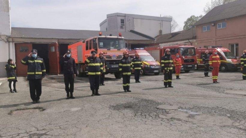 Încă 10 pompieri de la Cernavodă au fost infectați cu coronavirus. Aceștia sunt internați în spital