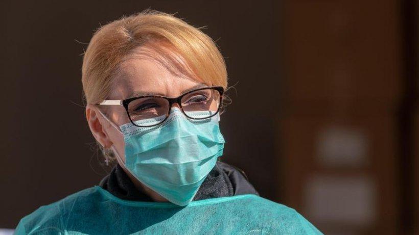 Gabriela Firea: Au ajuns în țară cele 6 000 de teste rapide pentru cadrele medicale din spitalele bucureștene