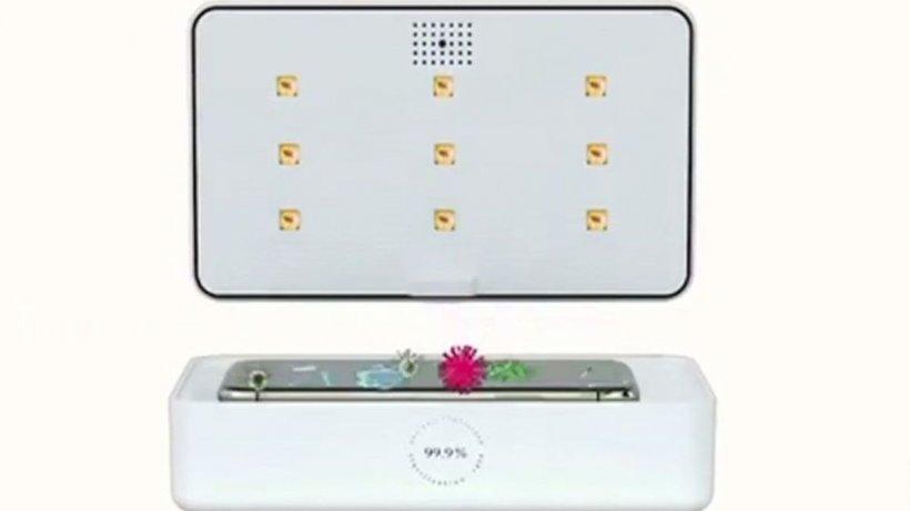 Cutia care dezinfectează telefonul și masca în doar câteva minute, fără soluții care să afecteze suprafețele