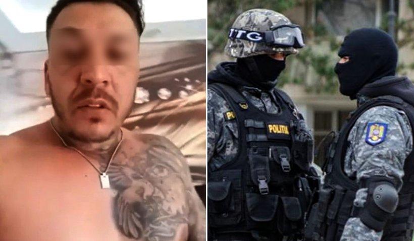 Interlop din București 'vizitat' de mascați, după ce i-a amenințat live pe Facebook: 'Sparg ficații în voi'